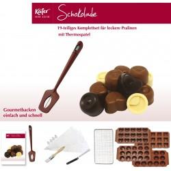 Schokoladen- und Pralinen-Set