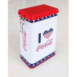 Coca-Cola Metalldosen  Design-Stars and Stripes