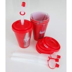 Coca-Cola Trinkbecher mit...