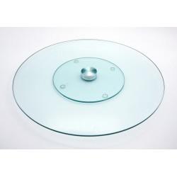 Servierplatte aus Glas